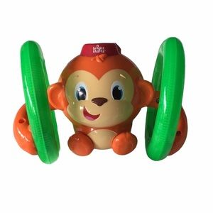 Other - 🎃Bright Starts Rolling Monkey, light up toy.